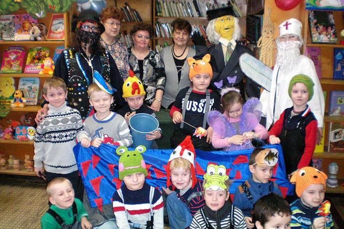 Веселый праздник «В гости к дедушке Корнею» в детской библиотеке № 2