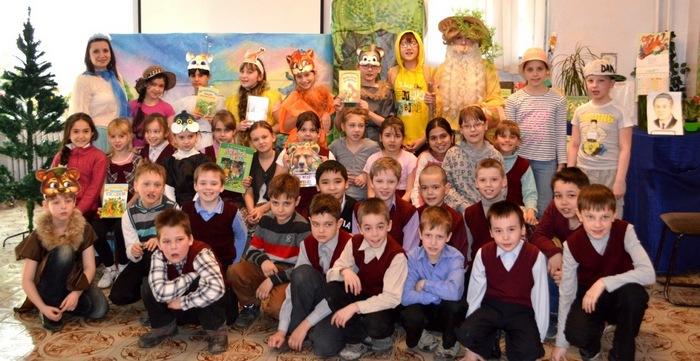 Книжный лабиринт «В лес по загадки» в детской библиотеке № 10