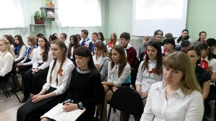 Участники акции в ЦДБ