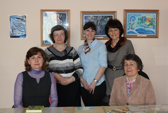 Коллектив детской библиотеки № 8