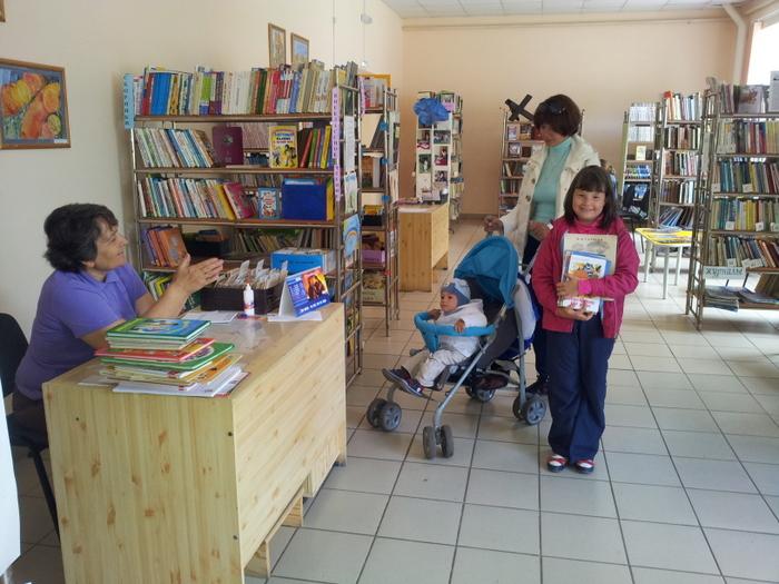 Всей семьей в библиотеку!
