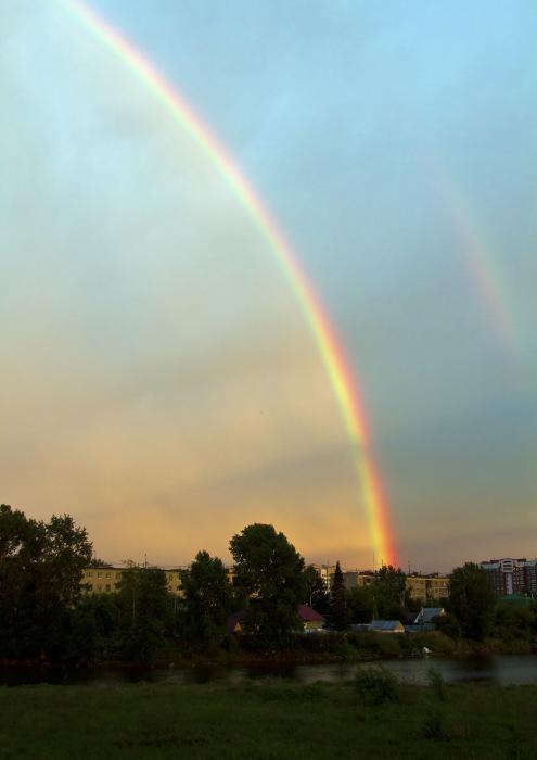 История радуги