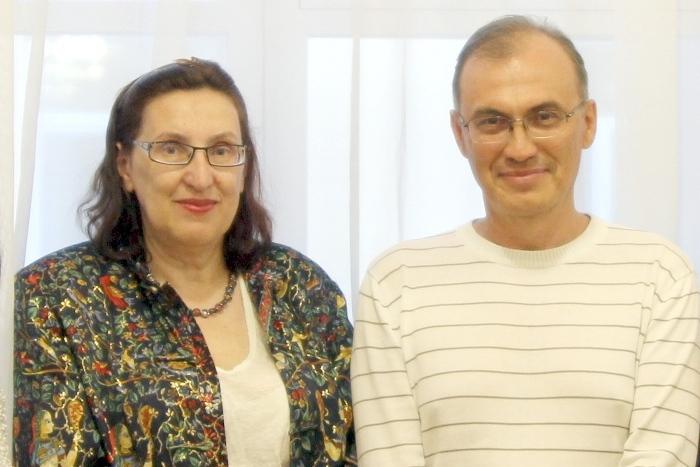 Марина Волкова и Виталий Кальпиди