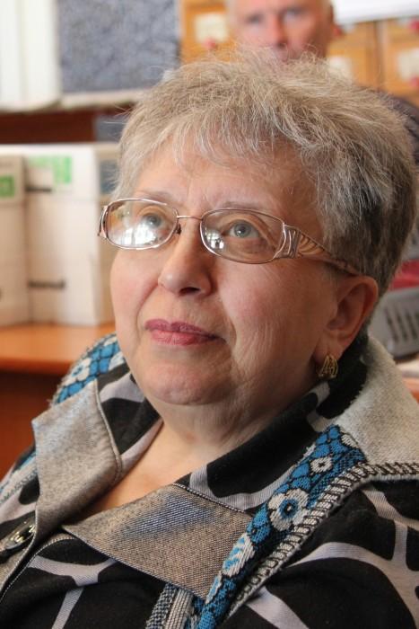 Валентина Павловна Добина. Руководитель литобъединения г.Бакал Челябинской области