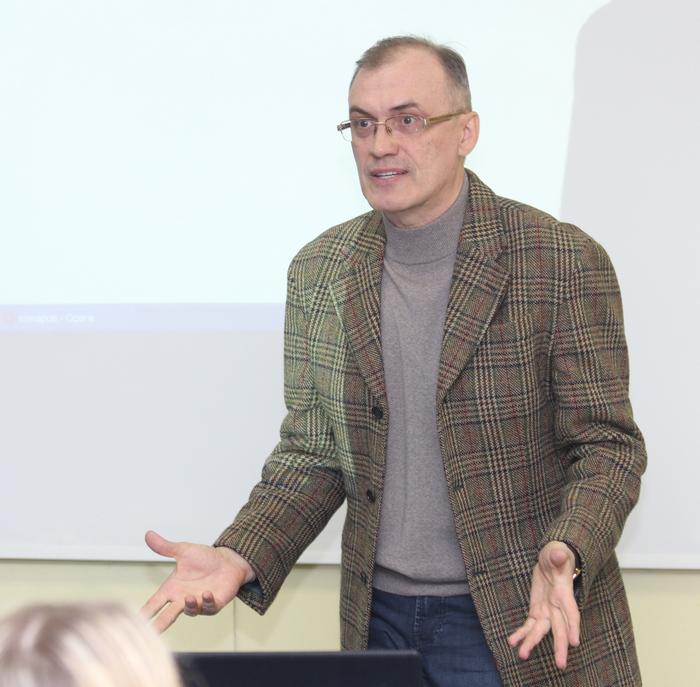 Лекция В.Кальпиди в ЧелГУ