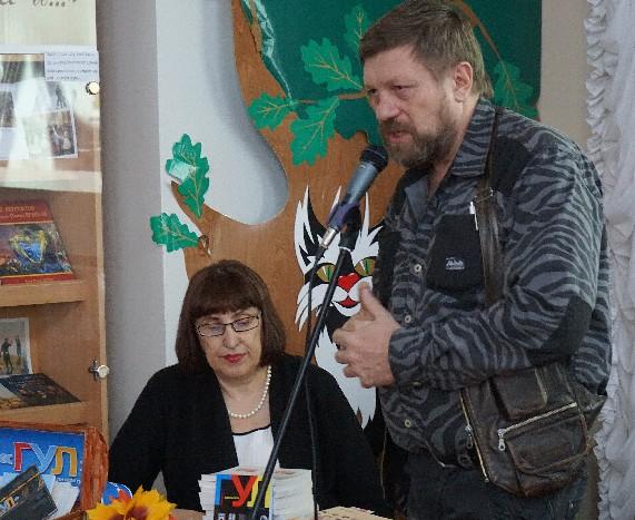 Марина Волкова и Олег Синицын