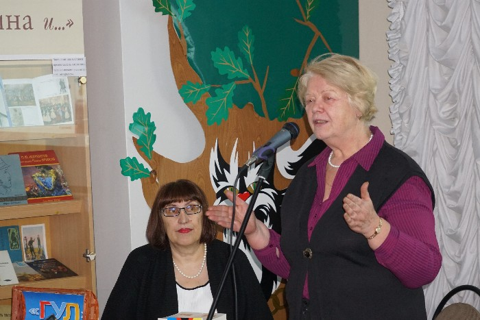 Марина Волкова и Наталья Шмидт