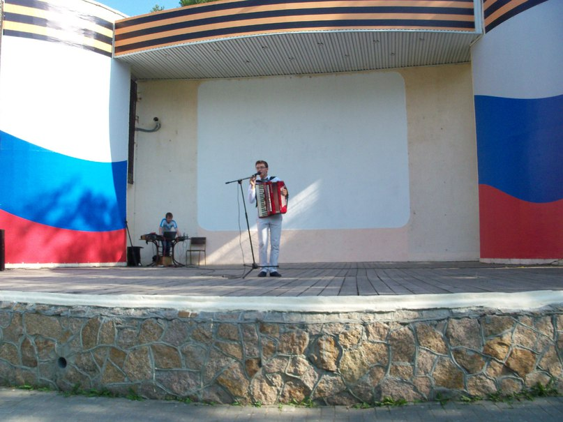 Александр Царьков на пробном мероприятии проекта 24 июня