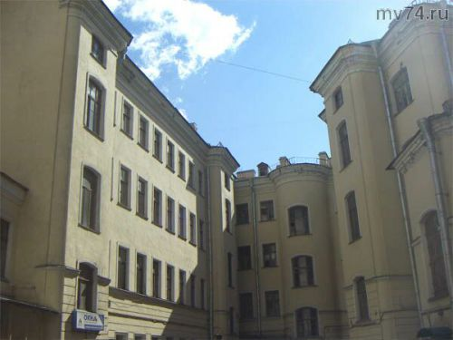 Дом, где жил Алексей Толстой