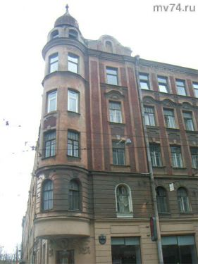 Питерские архитекторы не жаловали прямые углы
