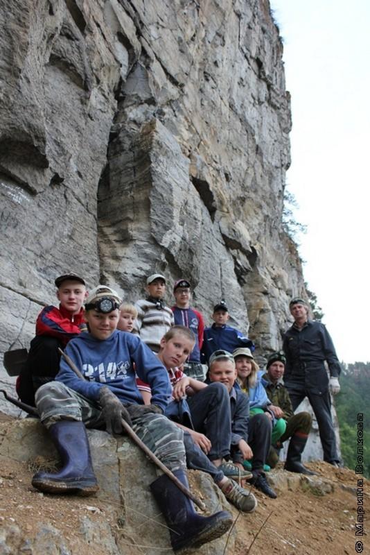 Дети и пещеры. Сикияз-Тамак