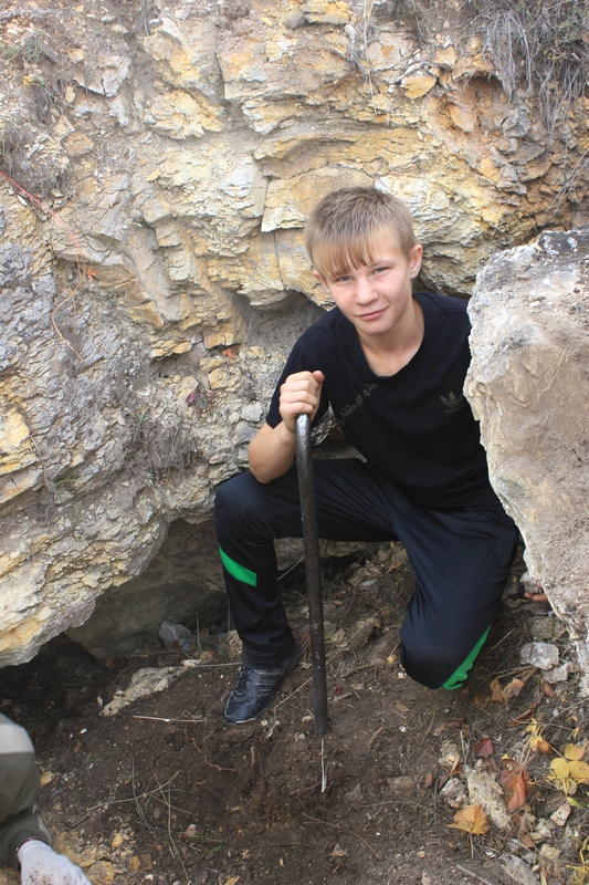 Юный спелеолог