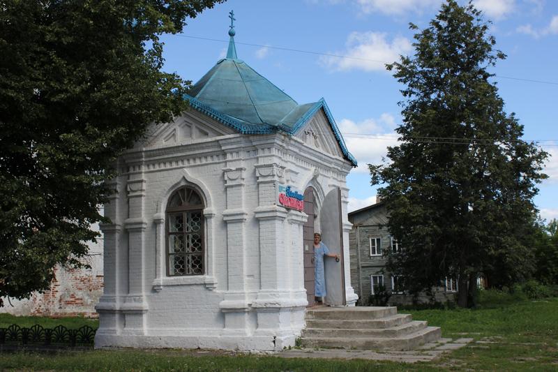 Сувенирная лавка в Гороховце