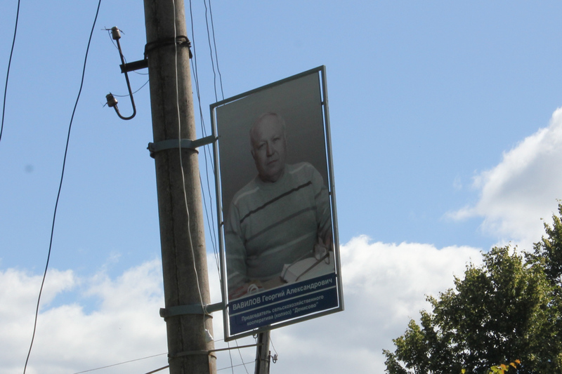 Фото жителей Гороховца вместо рекламы