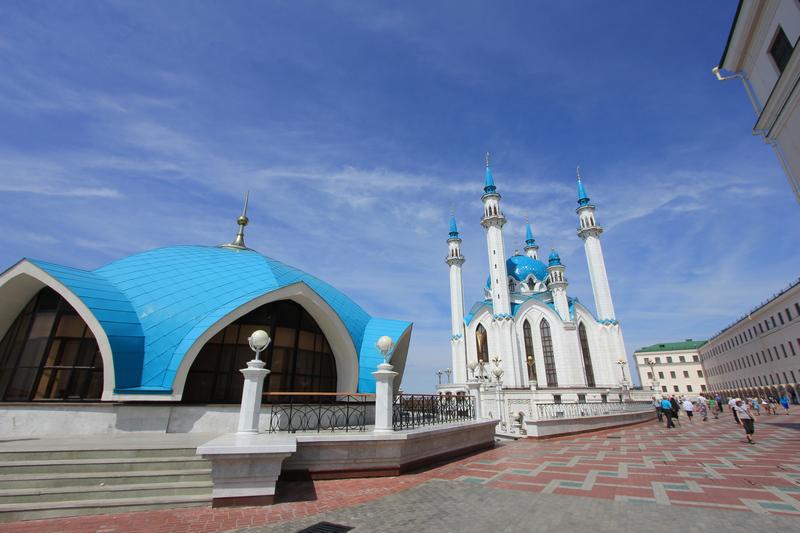 Административное здание и мечеть