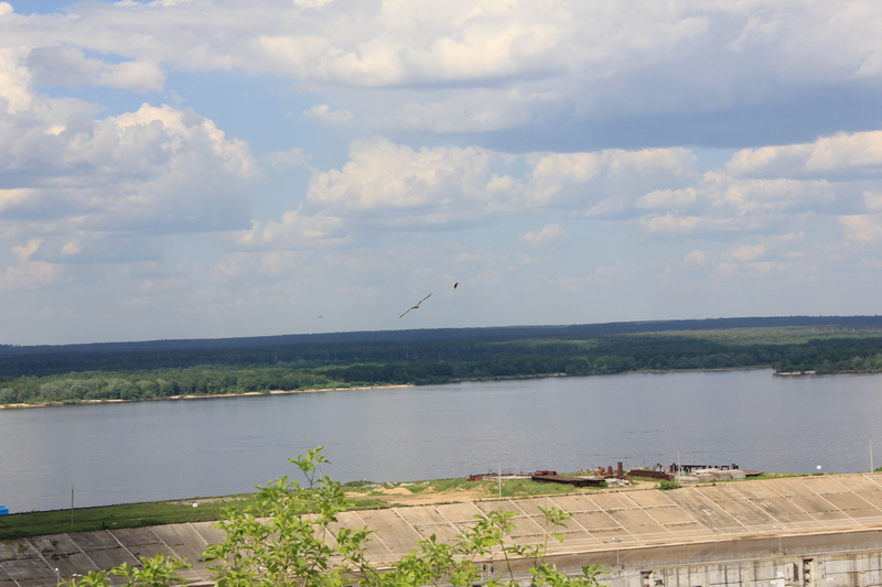 Волга, Новочебоксарск