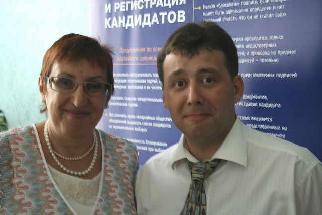 Марина Волкова и Юрий Гурман