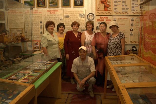 В деревенском музее