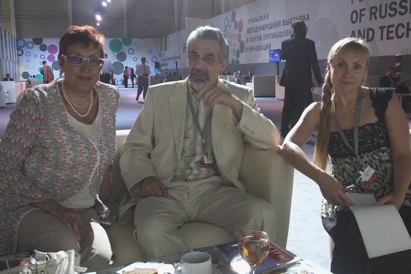 Марина Волкова, Равиль Бикбов и Ольга Ходакова
