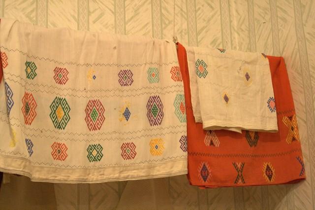 Башкирская национальная вышивка
