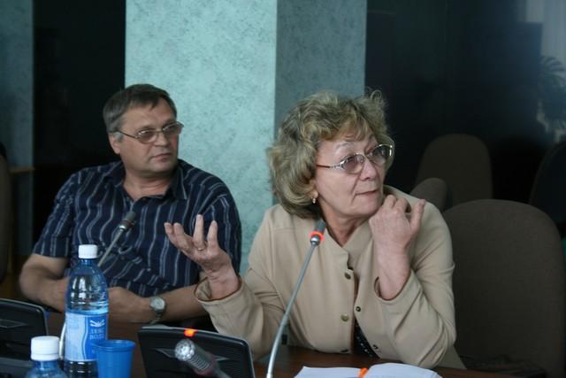Юрий Зацепилин и Мария Соболь