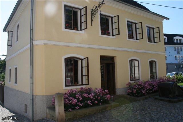 Дом, в котором родился Фрейд
