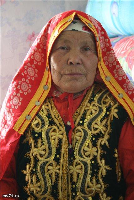 Башкирская бабушка