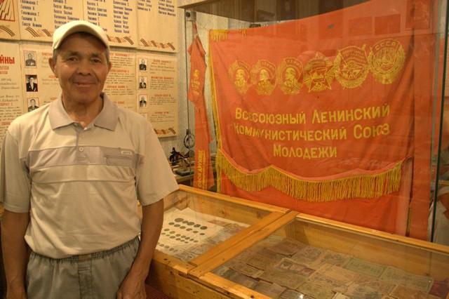 Асхат Салехов вспомнил в музее свою молодость