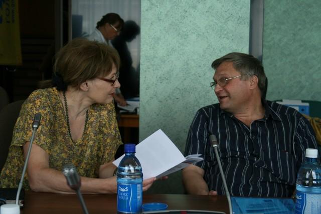 Ирина Дурманова и Юрий Зацепилин