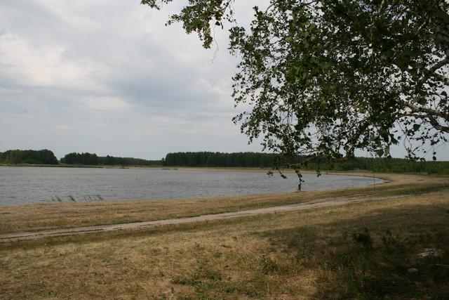 Озеро Мыльное, 2 км от Азналино