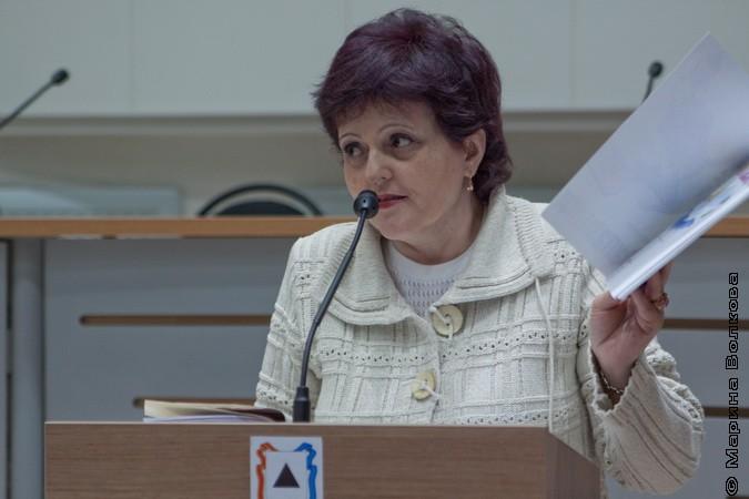 Елена Раннева на Читательском марафоне в Магнитогорске