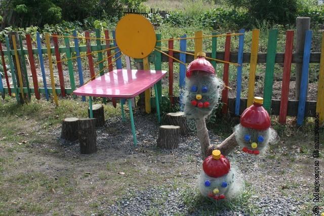Площадка в детский сад своими руками мк
