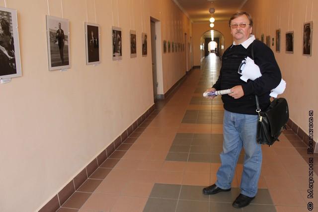 Павел Большаков, куратор выставки четырёх дозорных