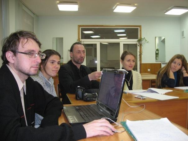 Дмитрий Сиротин (слева) в Липках