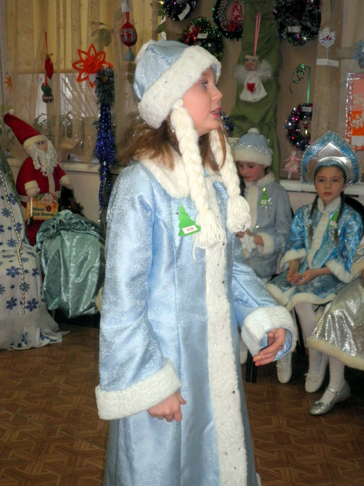 Юная Снегурочка – 2015