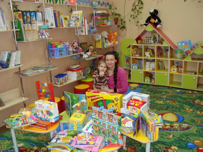 Подарки для малышей Библионяни