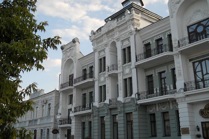 Гостиница построенная купцом Башкировым ещё в 19 веке