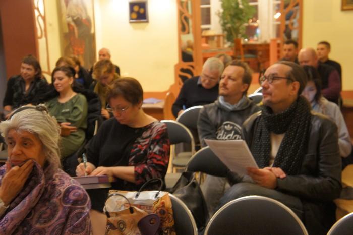 Поэтический митинг в Музее Серебряного века