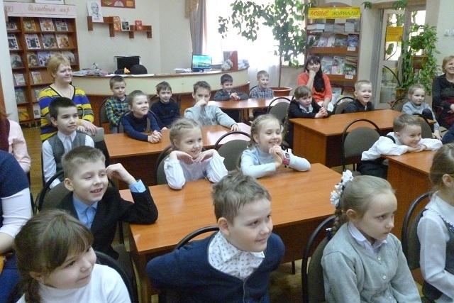Янис Грантс в челябинской детской библиотеке №12