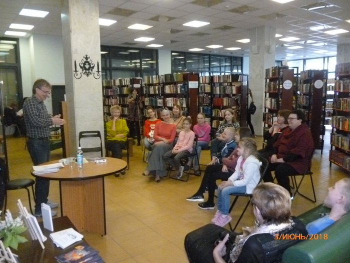 Читательский марафон в библиотеке Автограда