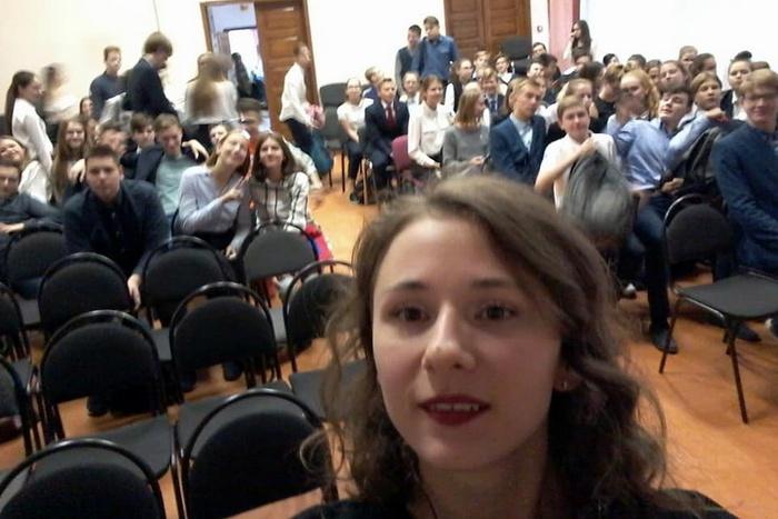 1. Анастасия Ваулина в  гимназии №35