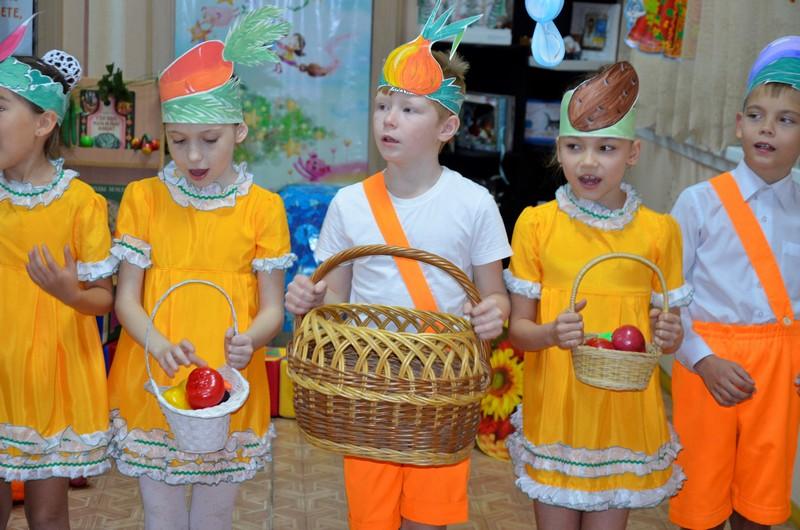 Парад овощей и фруктов
