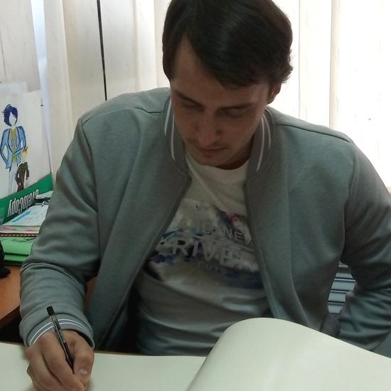 «Стишки – пирожки» на встрече с Романом Япишиным