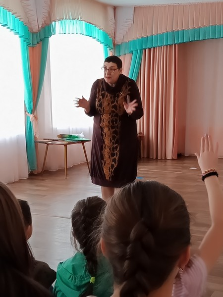 Урок по книгам Риммы Дышаленковой