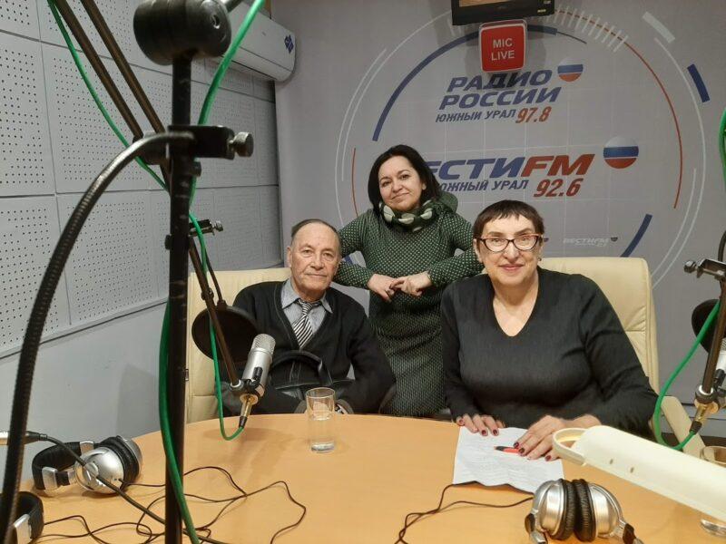 """О Правдухине на радио """"Южный Урал"""""""