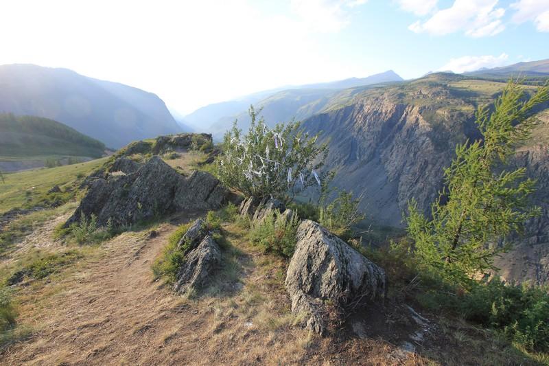 Алтай, ущелье и переезд на Телецкое озеро