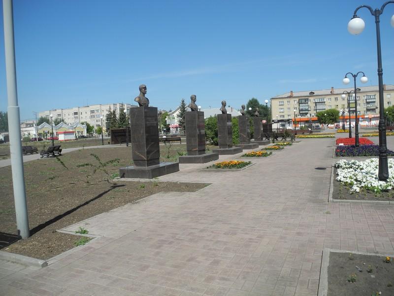 Троицк в июле