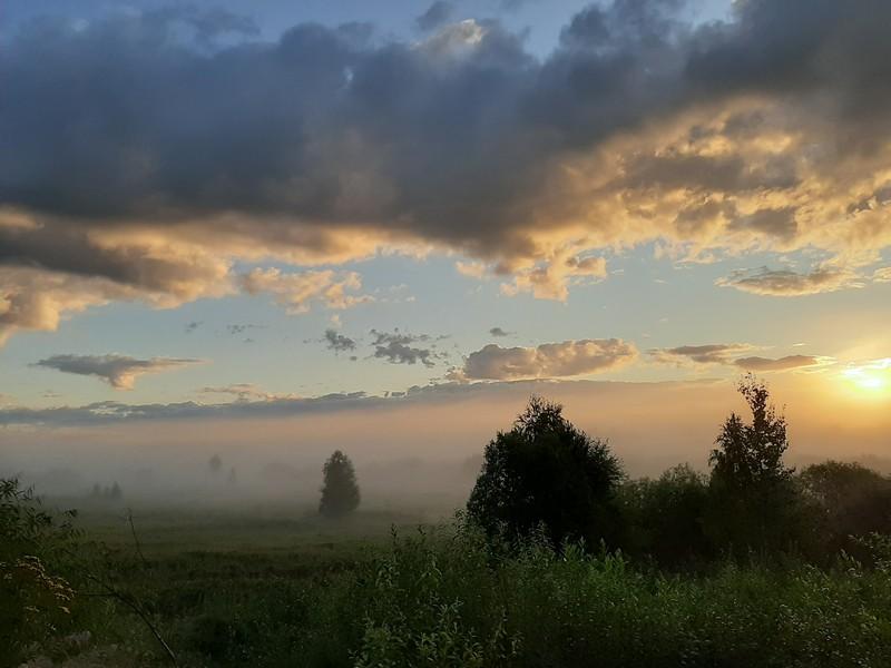 Урал-Карелия. День четвертый. Никольское, туман